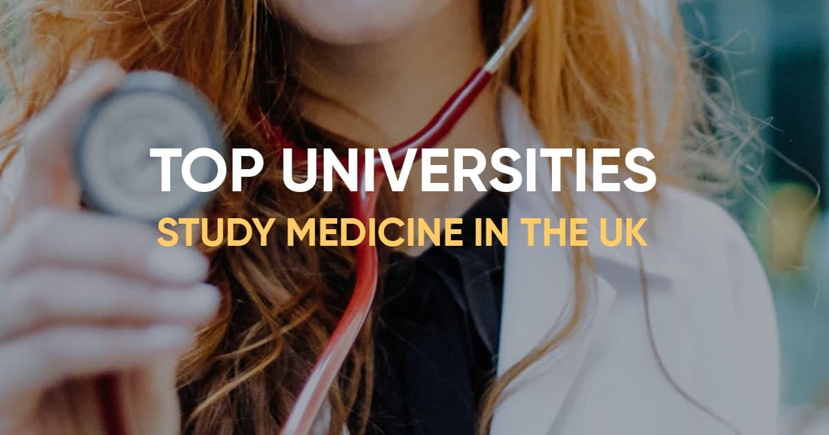 top uk universities medicine