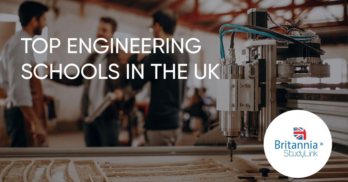 top engineering schools in the uk